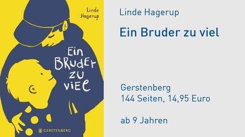 """Cover Linde Hagerup """"Ein Bruder zu viel"""""""