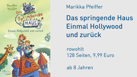 Cover Marikka Pfeiffer Das springende Haus