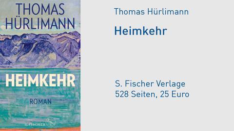 """Cover Thomas Hürlimann """"Heimkehr"""""""