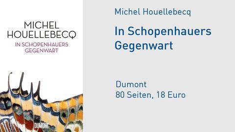 Cover Michel Houellebecq In Schopenhauers Gegenwart