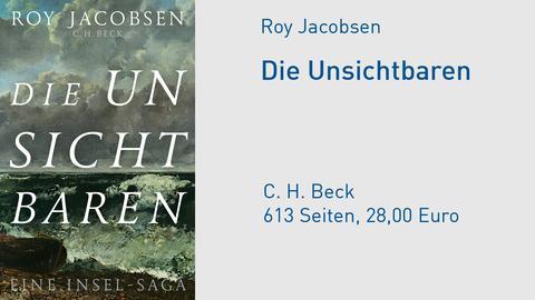 Cover Roy Jacobsen Die Unsichtbaren