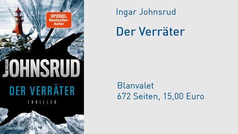 Cover Ingar Johnsrud Der Verräter