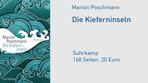 "Cover Marion Poschmann ""Die Kieferninseln"""