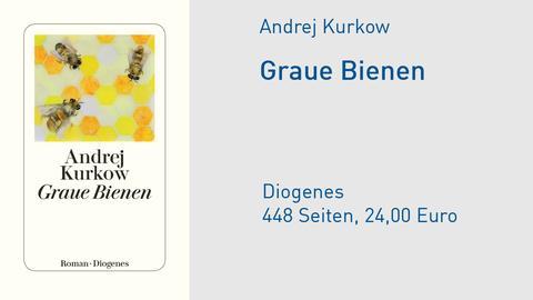 Cover Andrej Kurkow Graue Bienen