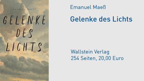 Cover Emanuel Maeß, Gelenke des Licht