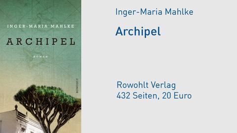 """Cover Inger-Maria Mahlke """"Archipel"""""""