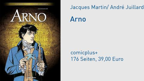 Cover Arno Jacques Martin André Juillard