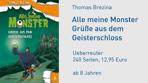 "Cover Thomas Brezina ""Alle meine Monster"""