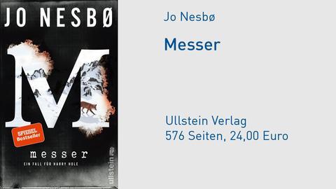 Cover Jo Nesbø / Nesbo Messer