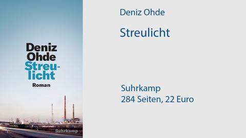 "Cover Deniz Ohde ""Streulicht"""