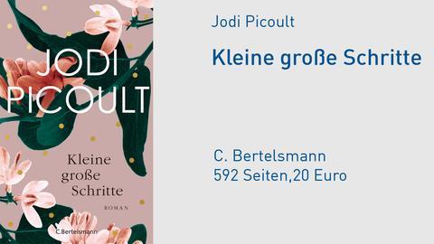 """Cover Jodi Picoult """"Kleine große Schritte"""""""