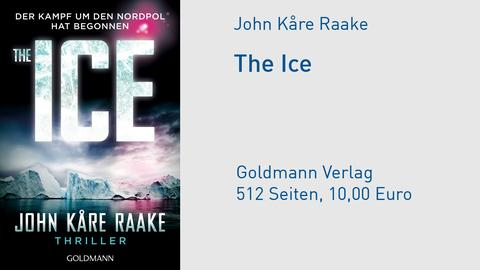 Cover John Kåre Raake The Ice