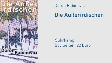 """Cover Doron Rabinovici """"Die Außerirdischen"""""""