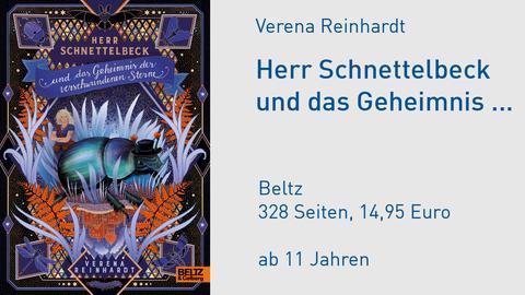 Cover Verena Reinhardt Herr Schnettelbeck und das Geheimnis der verschwundenen Sterne