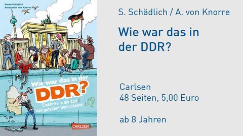 Susan Schädlich, Alexander von Knorre Wie war das in der DDR?