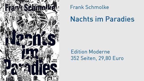 Cover Nachts im Paradies von Frank Schmolke