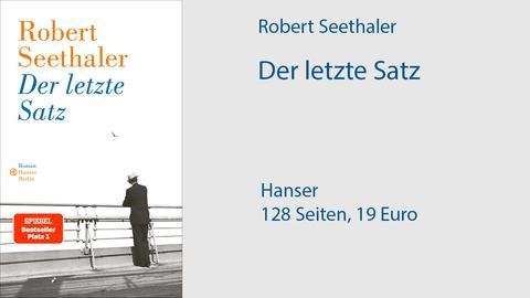 "Cover Robert Seethaler ""Der letzte Satz"""