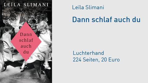 Cover Leila Slimani Dann schlaf auch du