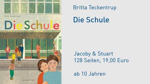 Cover Die Schule Britta Teckentrup