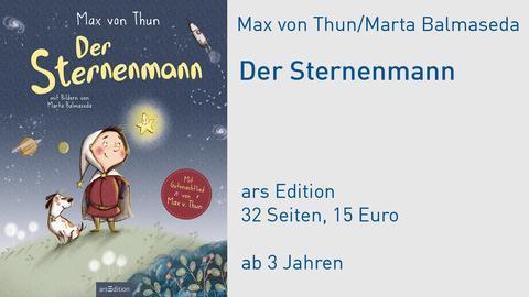 """Cover Max von Thun """"Der Sternenmann"""""""