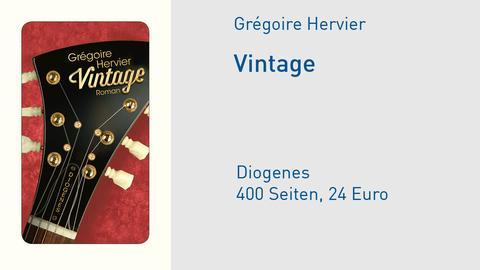 Cover Vintage Grégoire Hervier
