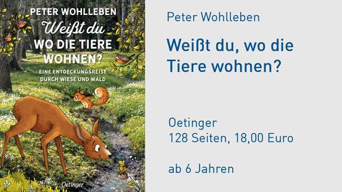 Peter Wohlleben Weißt du, wo die Tiere wohnen?