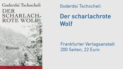 """Cover Goderdsi Tschocheli """"Der scharlachrote Wolf"""""""
