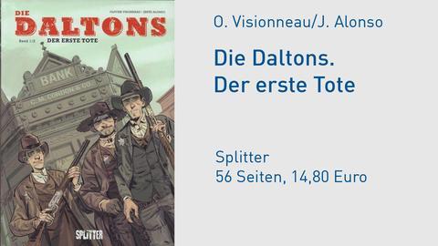 Daltons Comic Cover