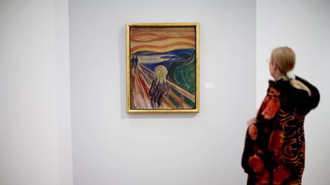 Edvard Munch Der Schrei in Oslo