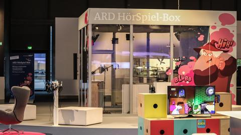 Die ARD HörSpiel-Box auf der Buchmesse 2019