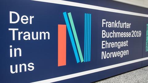 Fotos des Pavillons des Ehrengastes der Frankfurter Buchmesse 2019, Norwegen