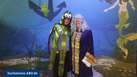 Fotos aus der ARD Fotobox auf der Buchmesse 2017