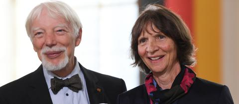 Friedenspreisträger Jan und Aleida Assmann