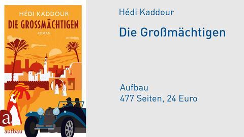 Hédi Kaddour Buchcover