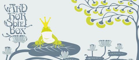 Hörspielbox mit dem Froschkönig