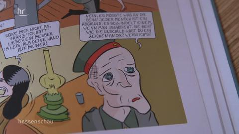 Screenshot aus dem Film-Beitrag zu Woyzeck als Comic