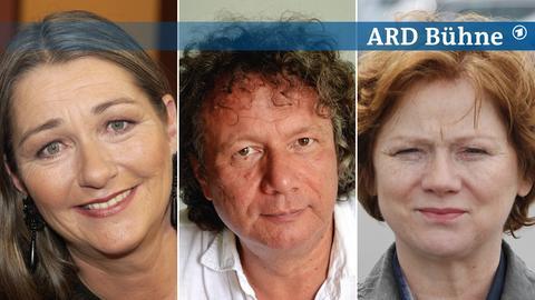 Bildkombi: Birgit Vanderbeke, Ingo Schulze, Imogen Kogge