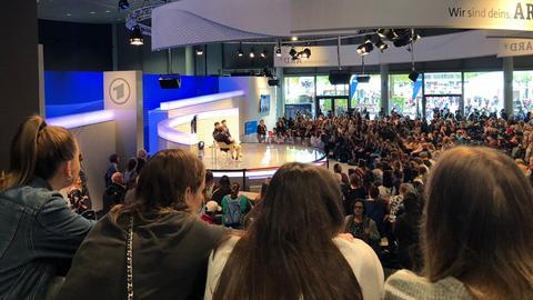 """""""Lochmanns"""" auf der ARD Bühne der Frankfurter Buchmesse"""