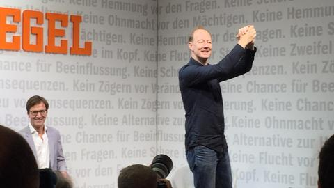 Martin Sonneborn auf der Frankfurter Buchmesse