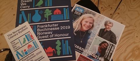 Pressematerial zum Ehrengastauftritt Norwegen