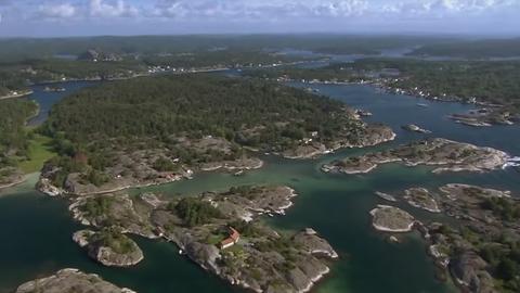 """Filmstill aus """"An der Nordseeküste"""" - Norwegen"""