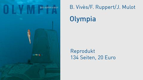Olympia Cover Comic