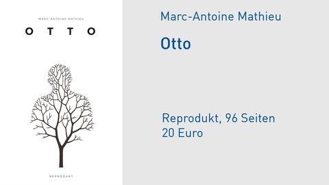 Otto Comic Cover