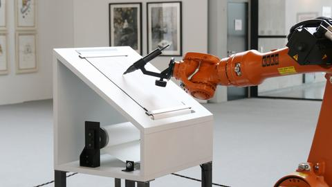 Manifest Roboter Buchmesse