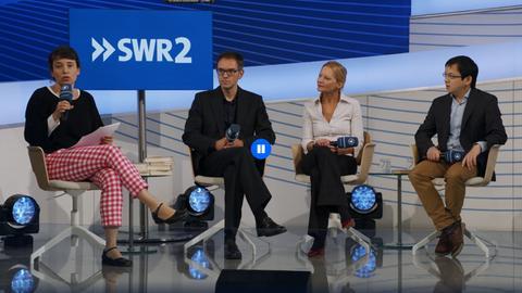 Talk auf der ARD Bühne: Schreiben über China