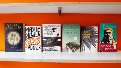 Titel der Shortlist für den Deutschen Buchpreis 2018