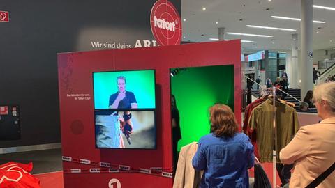 tatort-Box im ARD Forum auf der Frankfurter Buchmesse