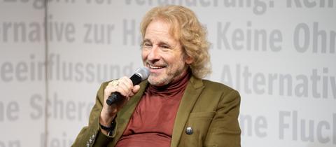 Thomas Gottschalk auf der Frankfurter Buchmesse