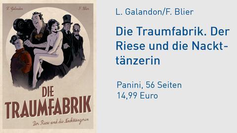 Traumfabrik Comic Cover