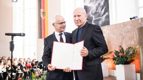 Heinrich Riethmüller und Sebastião Salgado